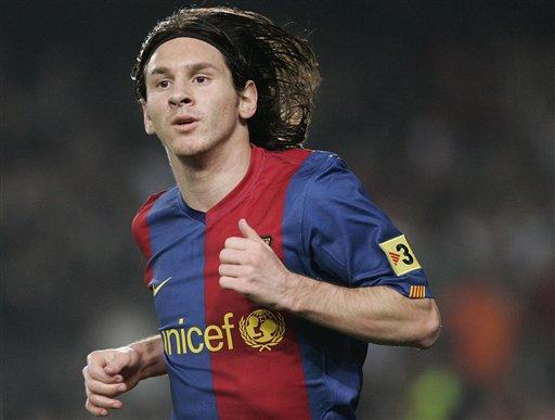 بعض الصور الجميلة لميسي Messi