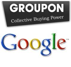 Guerra: Google disposta a pagar mais pela Groupon Google-groupon