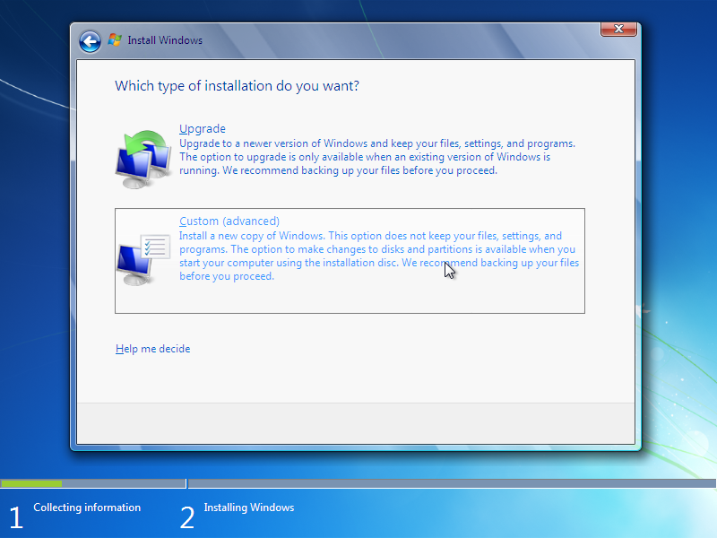 Windows 7 Professional Free Download ISO 32/64 bit Type-of-windows-7-installation