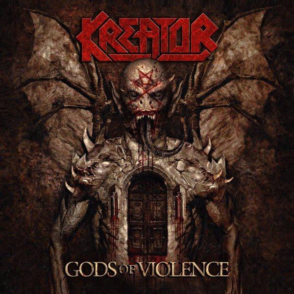 Νέο άλμπουμ από τους Kreator - Gods Of Violence.  Δείτε το Official Video Kreatorgodsuscover