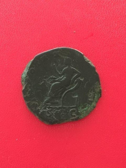 Sestercio de Antoninus Pío. TR POT XX COS IIII - S C. Securitas. Ceca Roma. D09975dc-da45-11e5-94a8-18437a341205