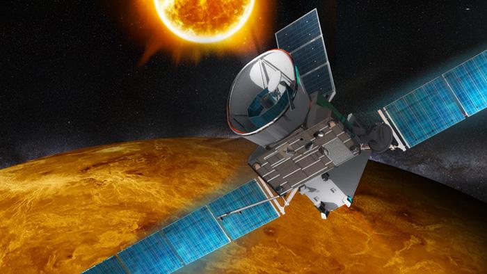 Bepi-Colombo : les survols de Vénus (15.10.2020 ; 11.08.2021) Bepicolombo_airbusds
