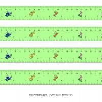 LA GEOMETRIA 9-centimeter-inch-flower-design-ruler