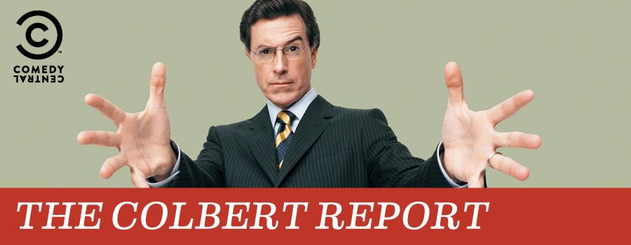 La politique vue par les émissions satiriques Key_art_the_colbert_report