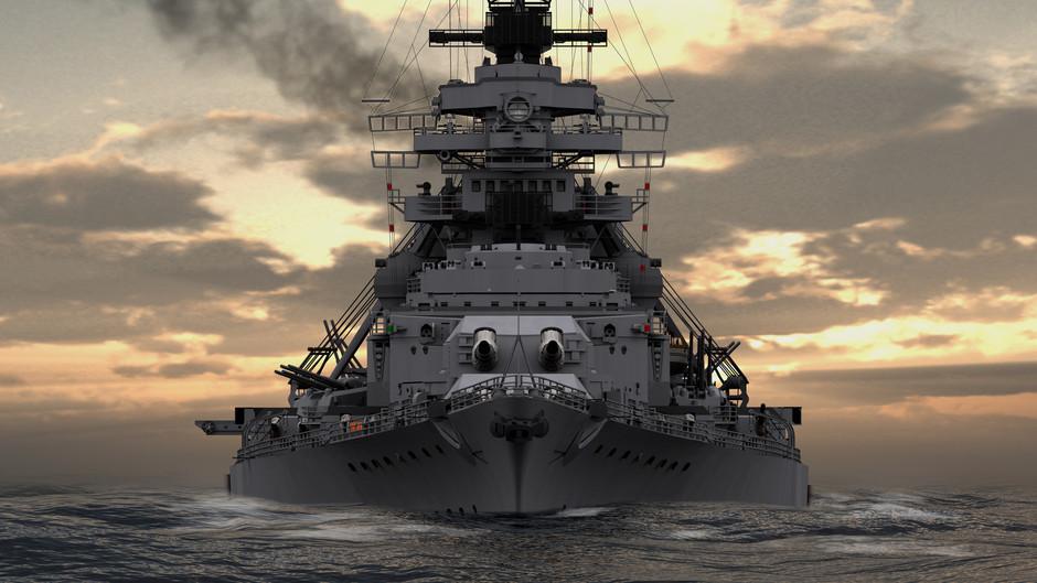 Bismarck au 1/200° de Hachette  - Page 3 36141