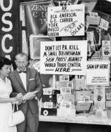 Children born on 9/11 use somber day to give back Boycotting-world-trade-center-1962