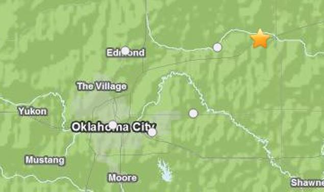 5 earthquakes rattle Central Oklahoma Earthquake-oklahoma