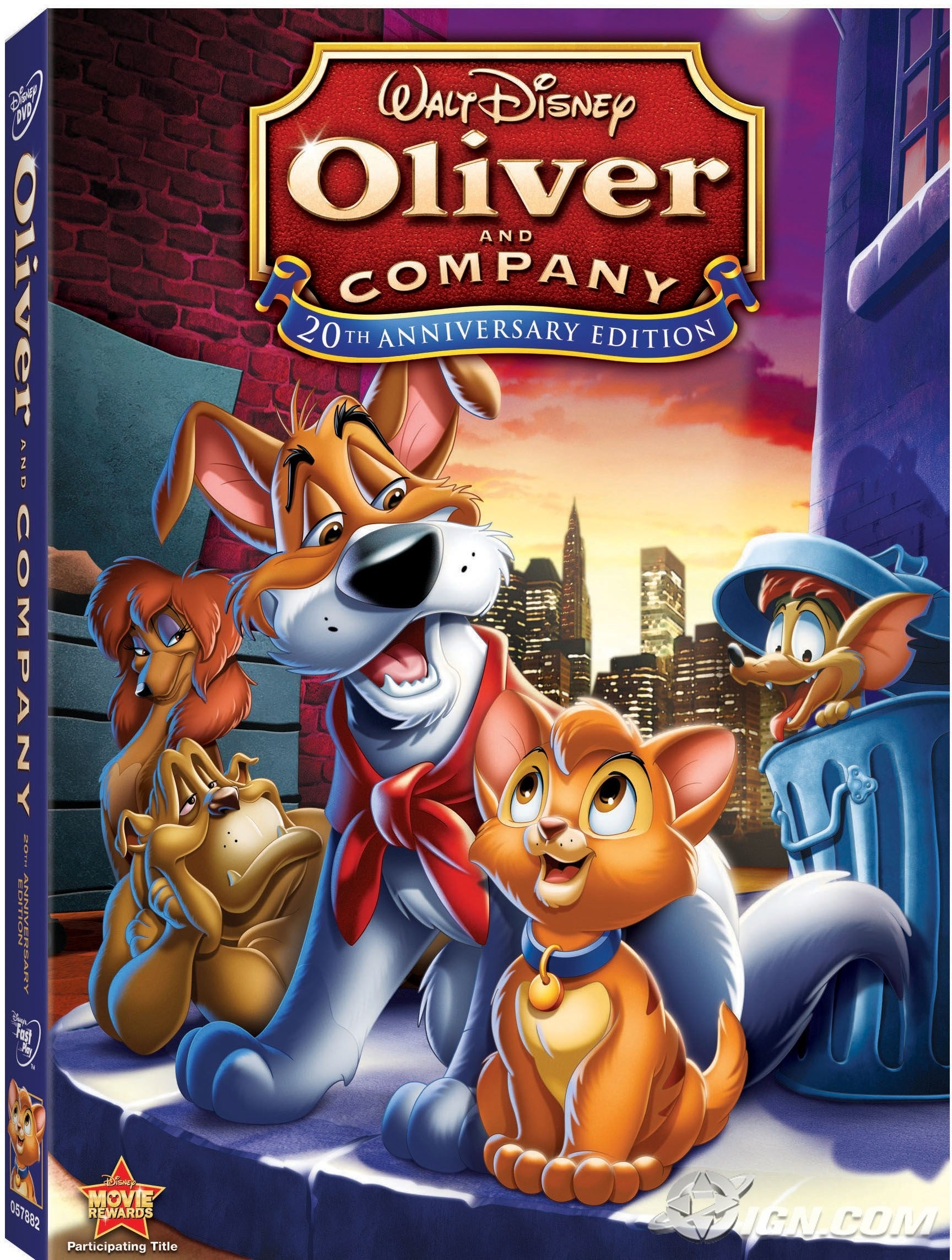 [BD] Oliver et compagnie (5 mars 2014) Oliver-and-company-20th-anniversary-edition-20081217093311679-2688187