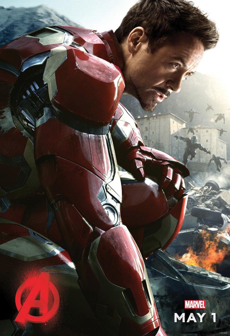 """ACTUALIZADO: """"The Avengers: Age of Ultron"""" y la Fase 3. Iron-man-posterjpg-3b002e_960w"""