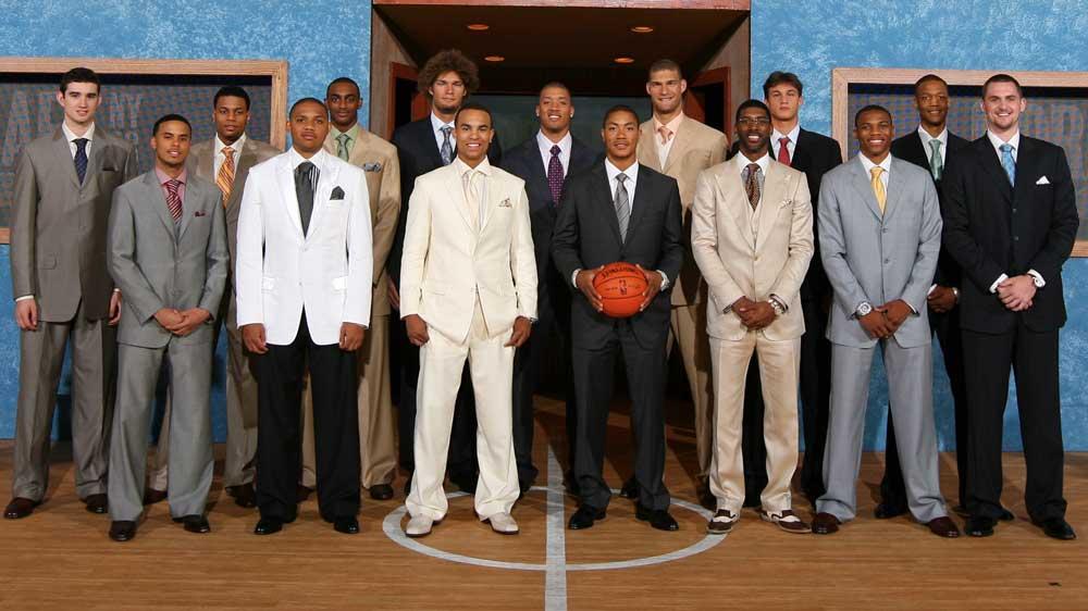 ¿Cuánto mide Derrick Rose? - Altura - Real height Draft2008