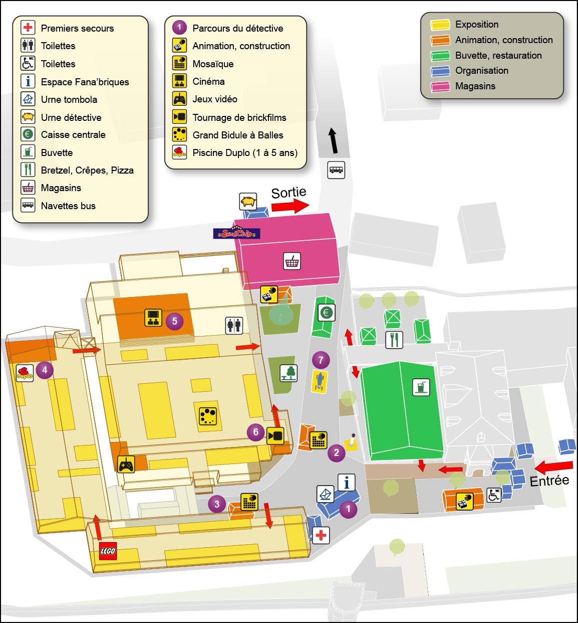 [Expo] Retour sur Fanabriques 2014 à Rosheim Plan%20Site%203d