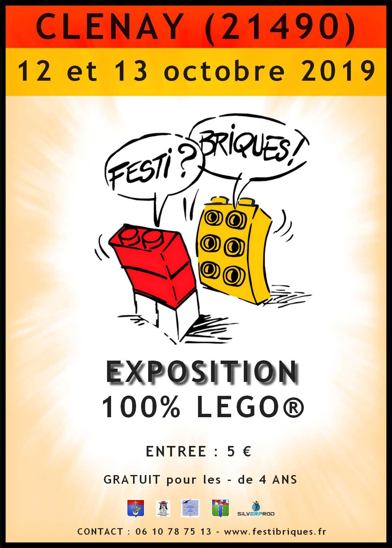 Préparation expo FestiBriques de CLENAY (octobre 2019) AFFICHE-CLENAY-2019-A6