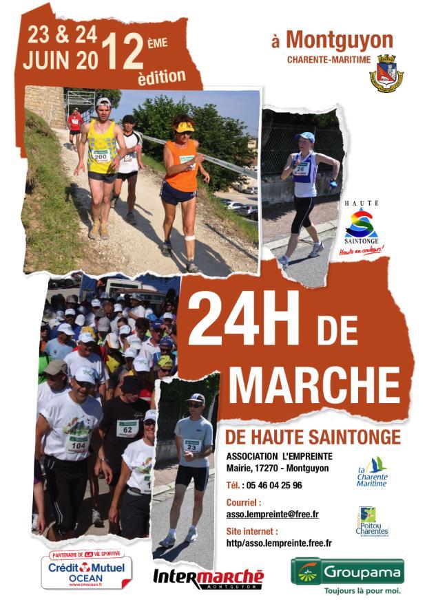 24 heures de Montguyon (17): 23-24 juin 2012 12-Affiche