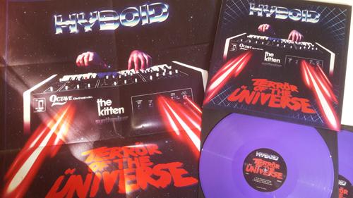 """Hyboid - Terrör of the Üniverse 2x12"""" LP + MP3 Download [ASTRO CHICKEN 06] AC06.Purple.Packshot.1a.500"""
