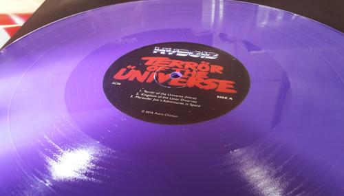 """Hyboid - Terrör of the Üniverse 2x12"""" LP + MP3 Download [ASTRO CHICKEN 06] AC06.Purple.Packshot.3a.500"""