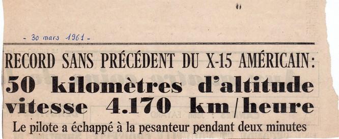 Vol X-15 du 30 mars 1961 X-15-s