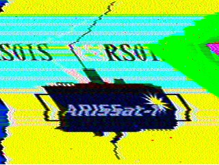 ARISsat-1 KDR chuchotements Arissat-mire-sstv