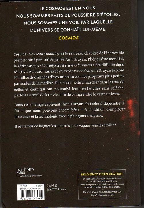 [Littérature] Cosmos d'Ann Druyan Cosmos2