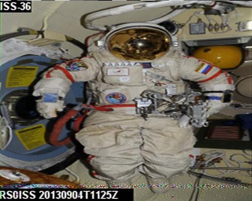 Expedition 36 (Déroulement de la mission) - Page 5 Iss-sstv