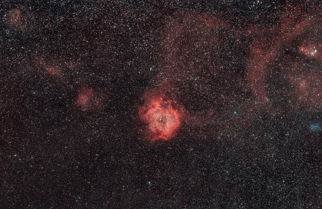 Nébuleuses au A7s défiltré au 200mm f/2.8 Rosette_A7s_1Mp