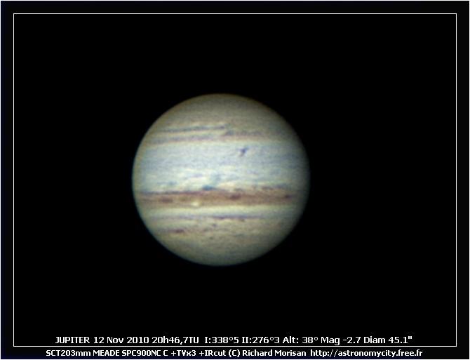 Jupiter 11 et 19 Decembre Crbst_J20101112_204643_Rmo
