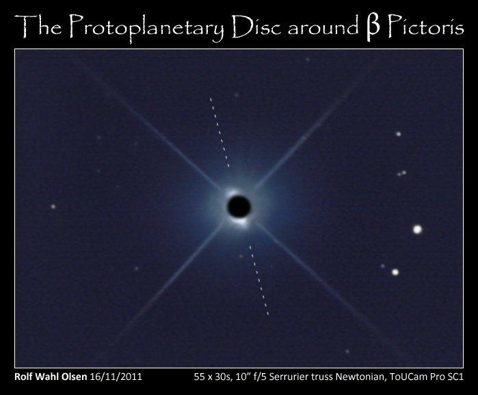 Primeira foto de um exo-planeta, feita por um amador Beta-Pictoris-presentation-16112011