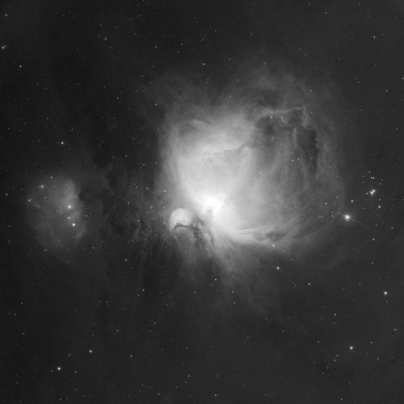 Ciel profond d'hiver CCD-M42e