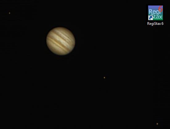 Petit test traitement planétaire Jupiter_Registax