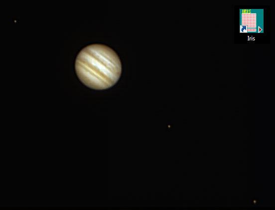 Petit test traitement planétaire Jupiter_iris