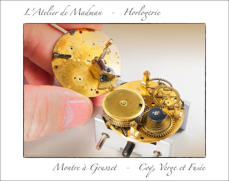 Montre à Gousset - Coq, Verge et Fusée P1223053026-4