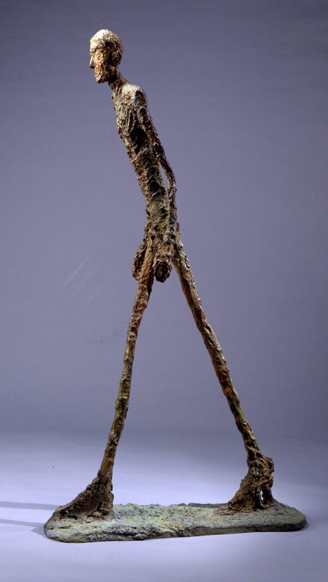 La sculpture du XXe siècle, qui me plaît Lhomme-qui-marche