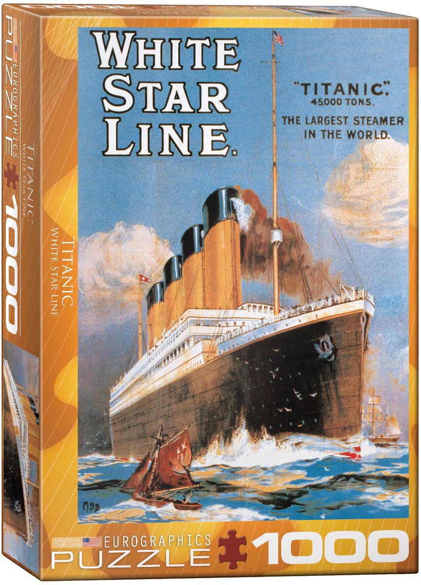 Puzzles Titanic 6000-1333-Titanic-White-Star-Line-Item-6000-1333-Puzzle-size-19.25x26.5-in