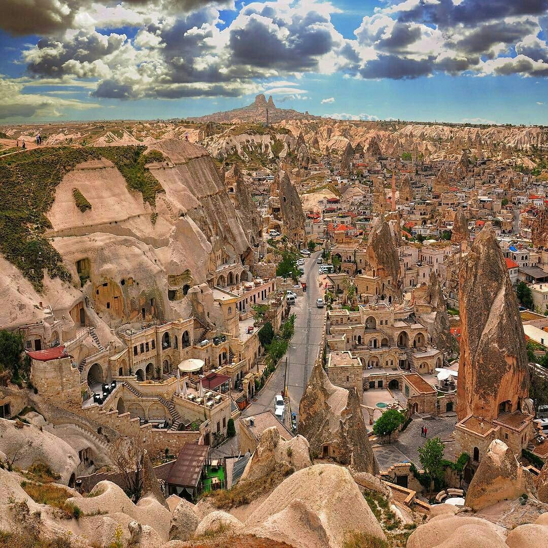 Pueblos con magia y encanto. Cappadocia