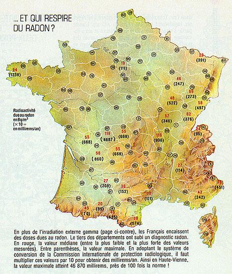 Se protéger du radon France_radon