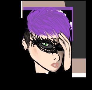 Masquerade, Kalla CUP 2. osakilpailu (TT) Mask_anna