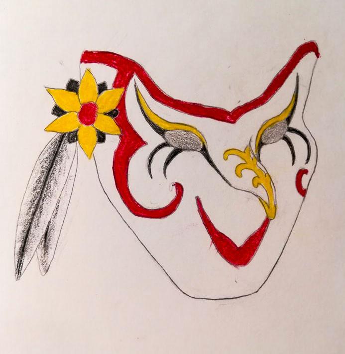 Masquerade, Kalla CUP 2. osakilpailu (TT) Mask_narri