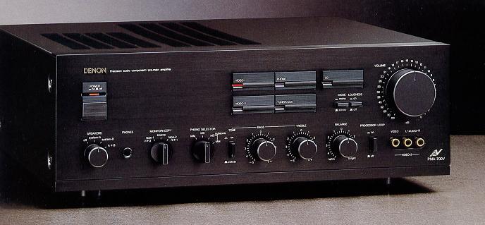 O meu 1ª Amplificador Pma-700v