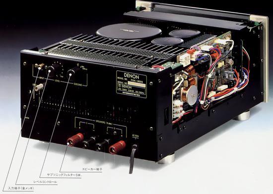Etapas Mono Denon POA S-1 Poa-8000(1)