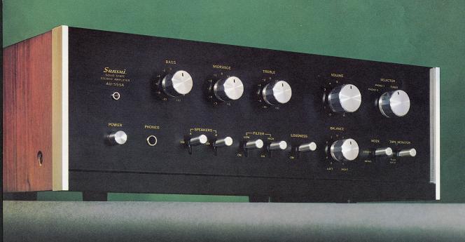 SANSUI Y PIONEER Au-555a