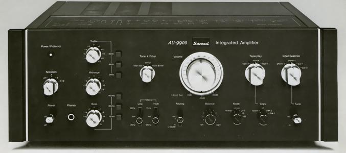 Altavoces para Sansui AU 9900 Au-9900