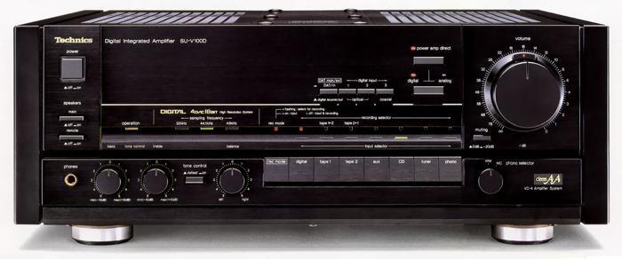 O regresso dos amplificadores com DAC Su-v100d