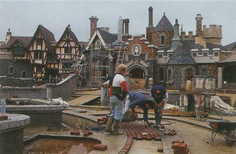 Foto e video della costruzione dei parchi 573022410