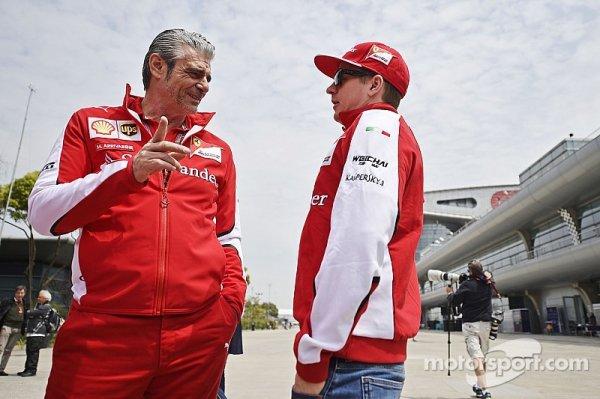 Arrivabene a fait modifier la SF15-T pour Räikkönen cet hiver 3249675950_1_3_dIS1T9go