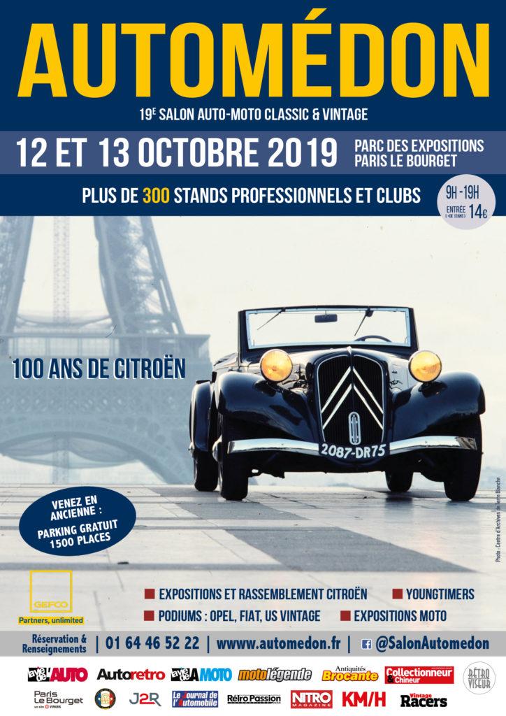Automédon les 12 et 13 octobre au Bourget AUTOME%C3%8C%C2%81DON-2019-AFFICHE-724x1024