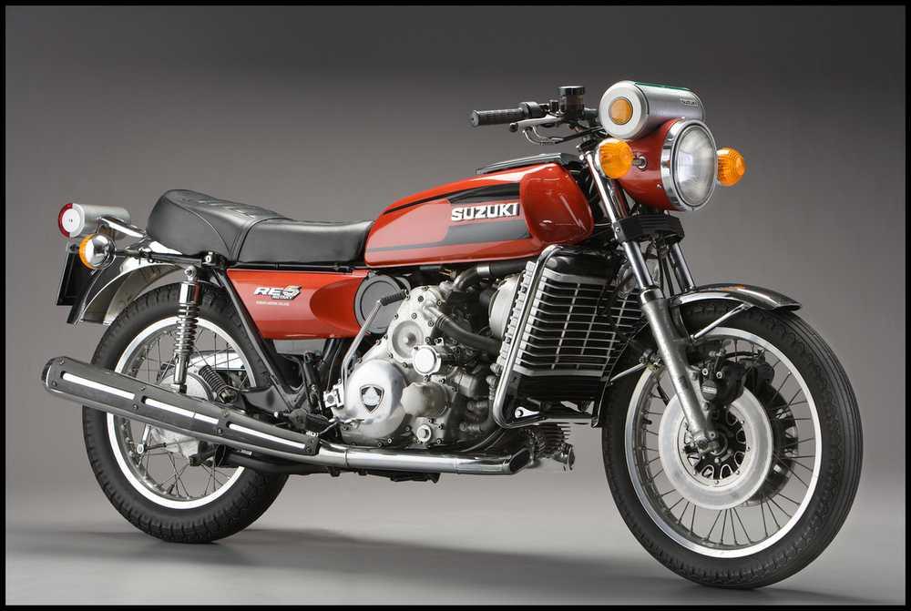 devinette, quelle est cette moto ? Suzuki-RE5