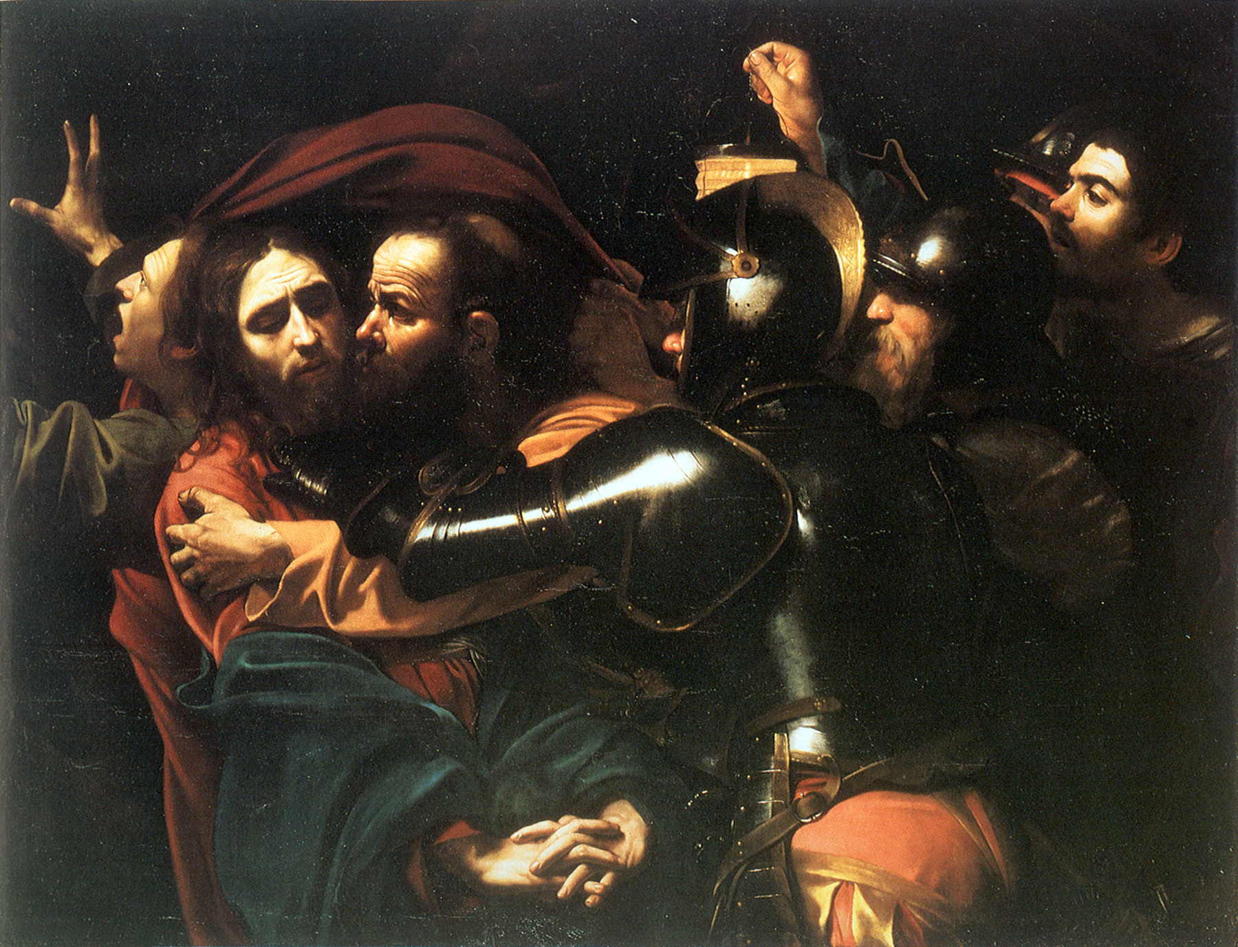 Un'opera d'arte al giorno - Pagina 2 Caravaggio-cattura-di-cristo
