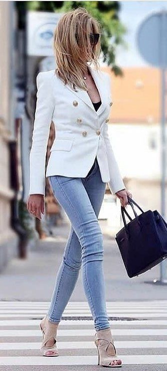 Outfit trabajo - Página 7 Blazers-chic-pour-femme5