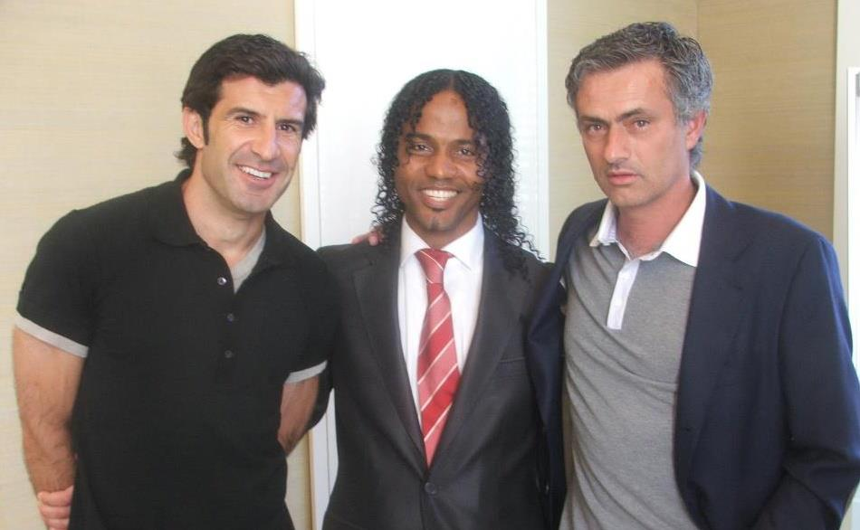 Debate sobre futbolistas Figo-GomesMourinho