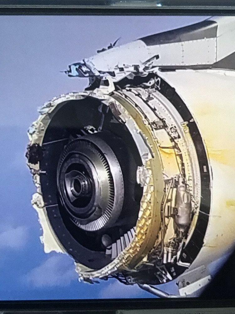AF66 Paris Los Angeles a380 perte de la soufflante en vol Afr_a388_f-hpje_greenland_170930_3