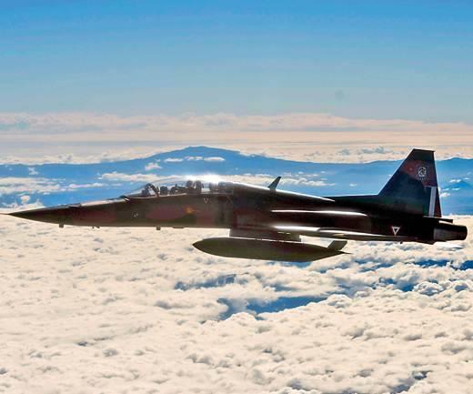 Northrop F-5E/F; El primer caza supersónico mexicano 1011674_orig